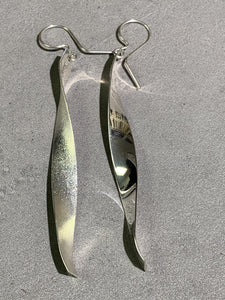 Jeremy Harrison Navajo Sterling Silver Earrings