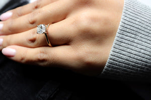 1.5 ctw Diamond Solitaire Engagement Ring
