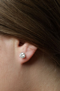 2.10 ctw Diamond Stud Earrings