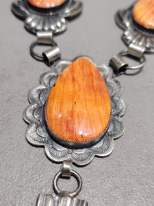 Hemerson Brown Spiny Oyster Necklace