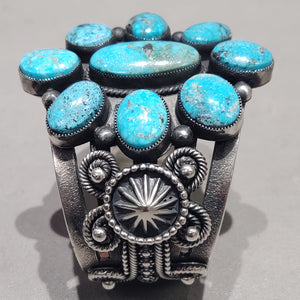 Hemerson Brown Turquoise Cuff