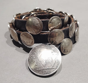 36 inch Buffalo Nickel Belt