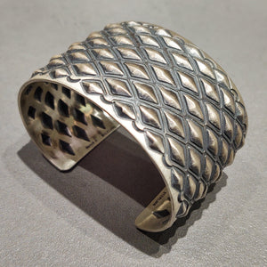 Harold Joe Sterling Silver Cuff - Handmade Native American