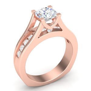 Diamond Engagement Ring Luminar L6852 1.50 ctw