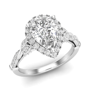 Diamond Engagement Ring Luminar L8676-PS 1.82 ctw