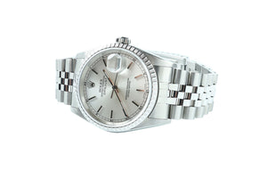 Pre-Owned Rolex DateJust Gold and Stainless Steel Timepiece 16220