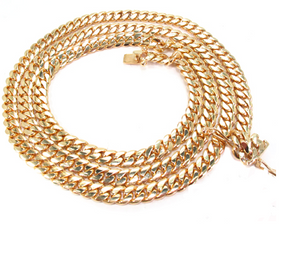 Solid Miami Cuban Chain 10k 6mm 26""