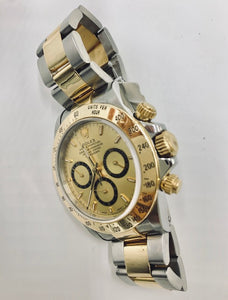 Pre-Owned Rolex Daytona 16523 Two-Tone Chronograph