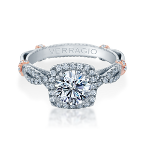 Diamond Engagement Ring Verragio Parisian Collection DL 106CU 1.50ctw