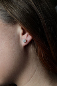 1.92 ctw Diamond Stud Earrings