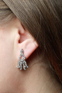 0.50 ctw Diamond Vintage Inspired Earrings