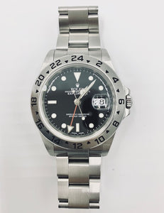 Pre-Owned Rolex Explorer II 16570 Stainless Timepiece
