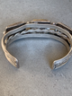 Petrified Wood Bracelet/Fred Harvey Era sterling