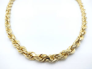 Solid 10k Gold Rope