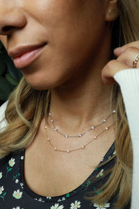 Diamonds by the Yard 0.90 ctw Station Necklace