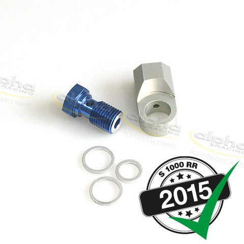 alpha Racing Oil PSI Sensor Mounting Kit BMW S1000 RR, HP4