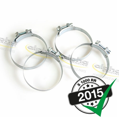 alpha Racing Throttle Body Clamp Kit BMW S1000/HP4 (2010-, 2015-)
