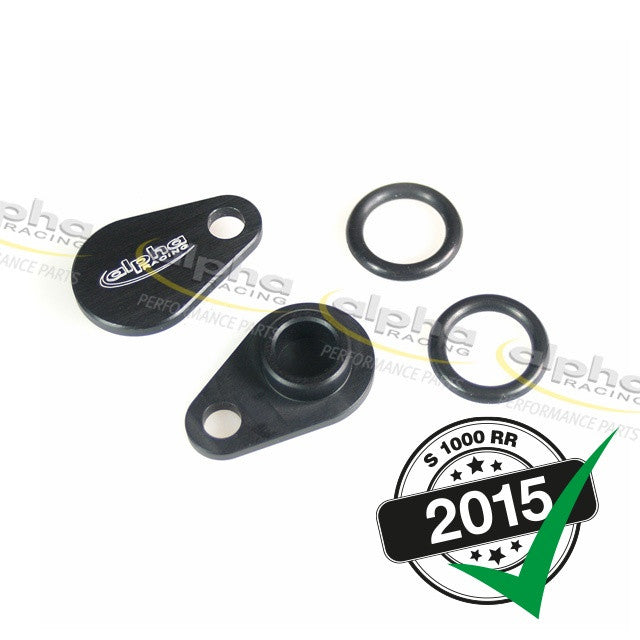 alpha Racing SAS Valvecover Block-off Plate Set BMW S1000RR/HP4 (2010-, 2015-)