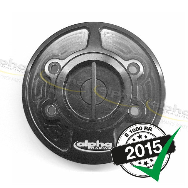 "alpha Racing ""Quick Action"" Fuel Cap BMW S1000RR (2010-, 2015-)"