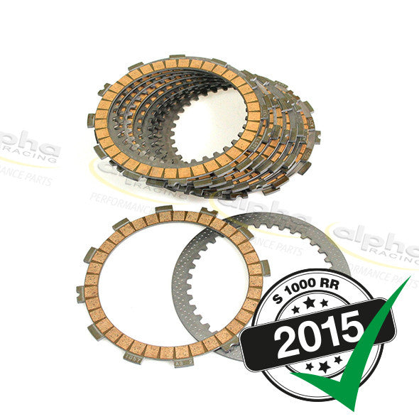 alpha Racing Clutch Plates Kit BMW S1000 RR/HP4 (2010-, 2015)