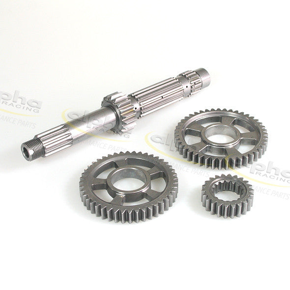 alpha Racing Kit Gear Box with Revised Ratios BMW S1000RR (2010-, 2015-) Part Number: 2300A020A00-01