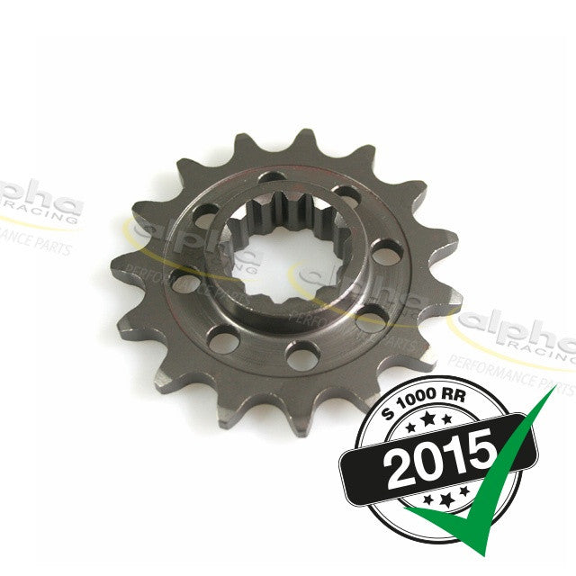 alpha Racing Front Sprocket T15 525 BMW S1000RR/HP4 (2010-, 2015-)