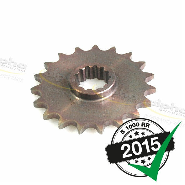 alpha Racing Custom Front Sprocket T19 520 BMW S1000RR/HP4 (2010-, 2015-)