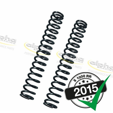 alpha Racing DDC Fork Springs (9.5 N/mm) BMW S1000RR/HP4 (2012-, 2015-)
