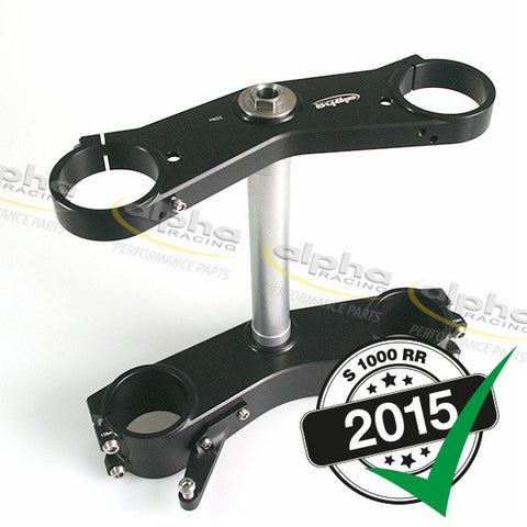 alpha Racing Triple Clamp WSBK Bitubo/Öhlins FGR 26mm BMW S1000RR