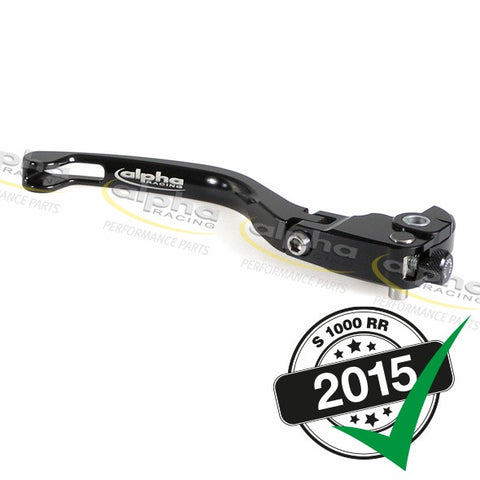 alpha Racing Folding Brake Lever Assy. Short BMW S1000 RR/HP4 (2010-, 2015-)