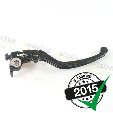 Complete Long Racing Brake Lever Assy. Brembo 19RCS