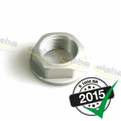 alpha Racing Rear Axle Nut BMW S1000RR (2010-, 2015-)