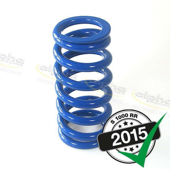 alpha Racing DDC Rear Spring (90 N/mm) BMW S1000RR (HP4, 2015-)