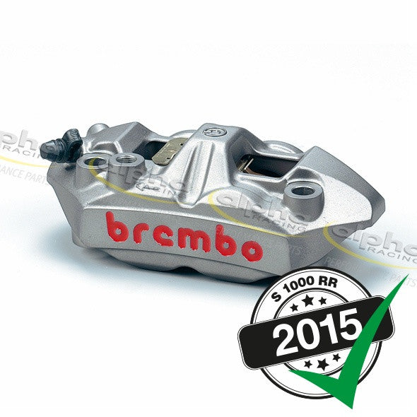 Brembo Calipers M4 34/34 Right/Left 108mm WSBK BMW S1000RR (2010-, 2015-)