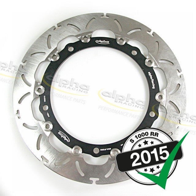 alpha Racing Front Brake Disc 320 x 5.0mm BMW S1000RR (2010-, 2015-) OEM Wheel