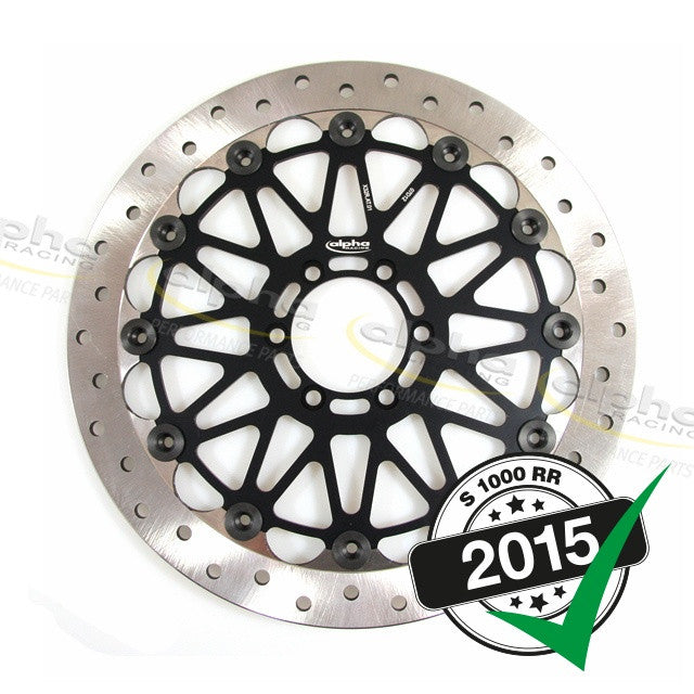 alpha Racing Front Brake Disc WSBK 320 x 6mm BMW S1000 RR (2010-, 2015-)