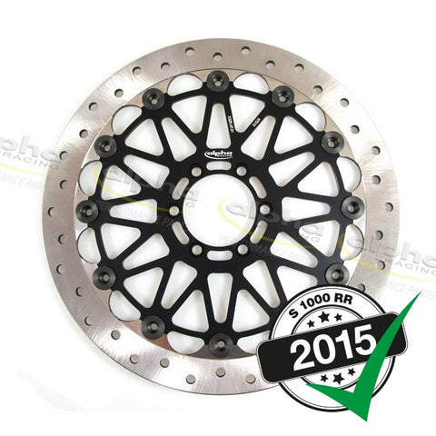 alpha Racing Front Brake Disc WSBK 320 x 6mm BMW S1000RR (2010-, 2015-)
