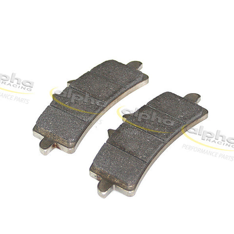 alpha Racing Front Brake Pad Set Duo Carbon BMW HP4 (2012-2014)