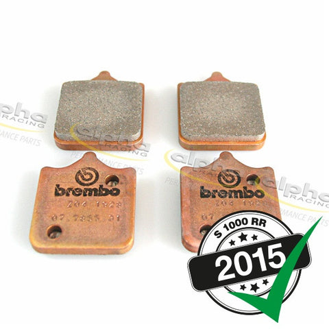 Brake Pad Set Brembo Racing Z04 BMW S1000RR (2010-, 2015-)