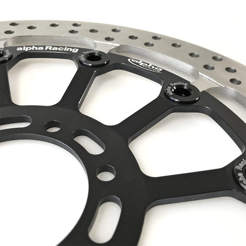 alpha Racing LEFT Front Brake Disc 320 x 6 EVO, T-floated, HP4 Race