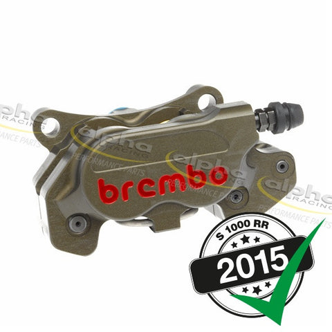 Brembo Rear Brake Caliper P4 24/24 BMW S1000 RR (2010-, 2015-)