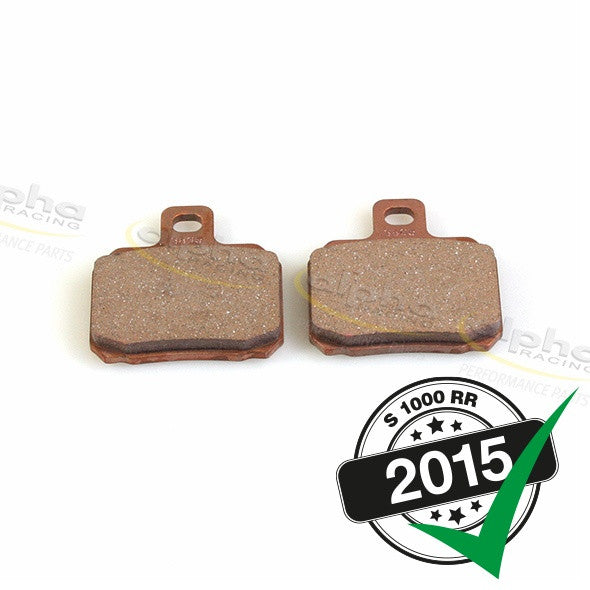 Brembo Racing Brake Pad Set P2 34 Sinter BMW S1000 RR (2010-, 2015-)