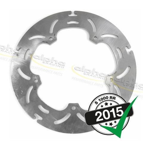 alpha Racing Rear Brake Disc 220 x 4mm BMW S1000 RR (2010-, 2015-)