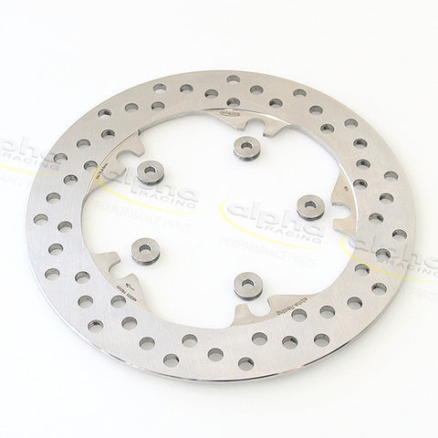 alpha Racing WSBK Rear Brake Disc 220 x 5.0mm Full Floating BWW S1000RR