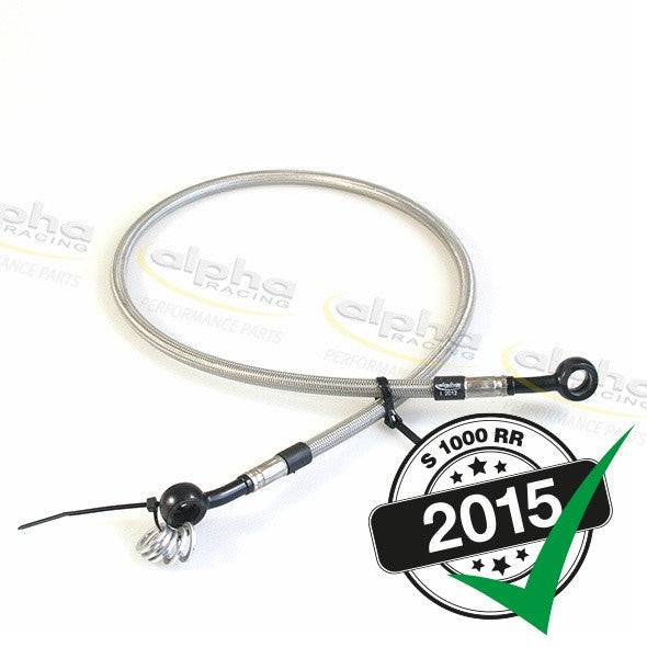 alpha Racing Rear Brake Line (700 mm) BMW S1000 RR (2010-, 2015-)
