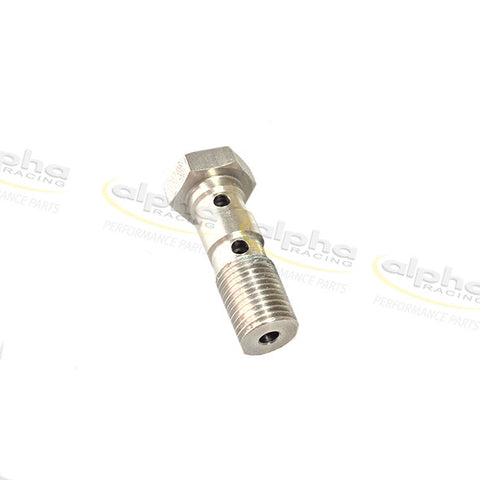 alpha Racing Double Hollow Stainless Screw M10x1 BMW S1000RR