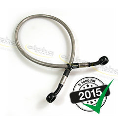 alpha Racing Rear Brake Line (630 mm) OEM Rearsets BMW S1000RR (2010-, 2015-)