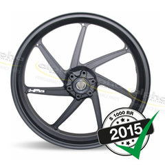 "BMW Genuine HP4 Front Wheel 3.5 x 17"" Black (2012-, 2015-)"