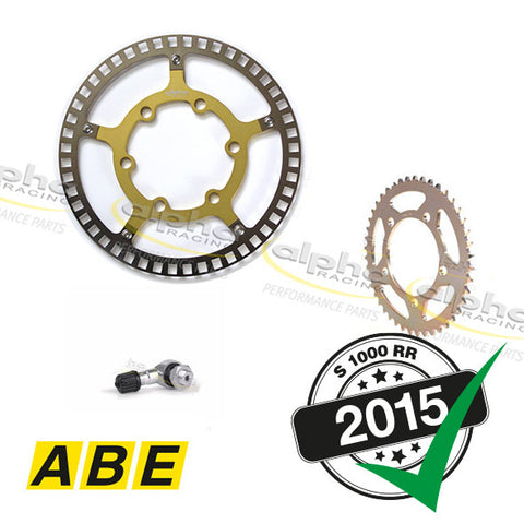 alpha Racing Street Kit for Forged Aluminum Wheels V2 BMW S1000RR