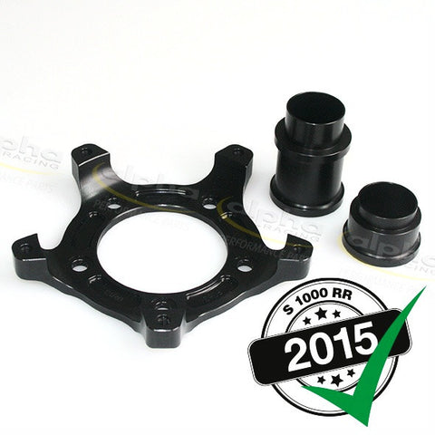 alpha Racing Install Kit for WSBK Chain Adjuster BMW S1000 RR/HP4 (2010-, 2015-) OZ Wheel